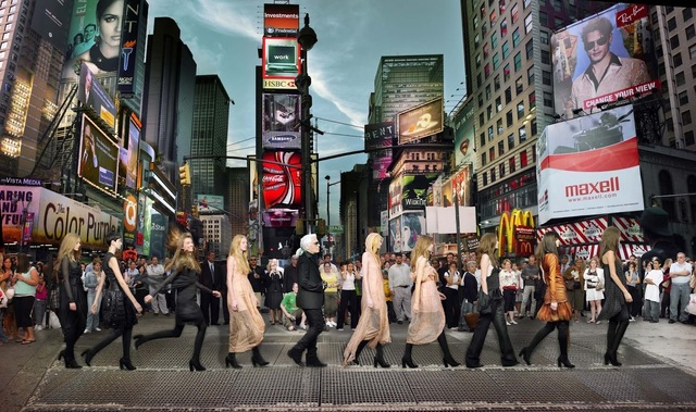 , 'Lagerfeld in Times Square,' , Rosenbaum Contemporary