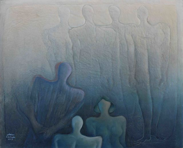 , 'Discourse of Silence 11,' 2015, al markhiya gallery