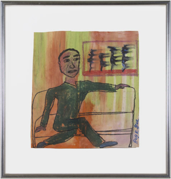 Reginald K Gee, 'Man on Express', 1999, David Barnett Gallery