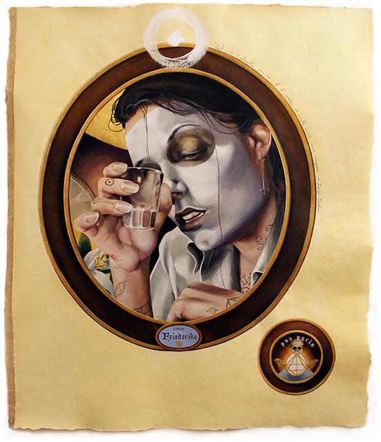 , 'Lenz (Largo),' 2015, LMAKgallery
