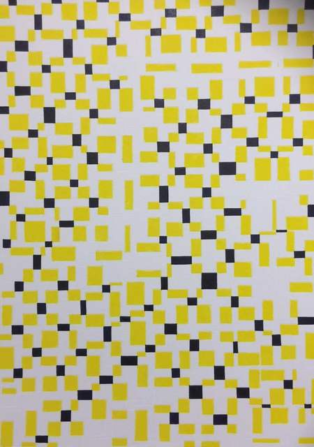 , 'Yellow & Black,' 2015, Galerie Isabella Czarnowska