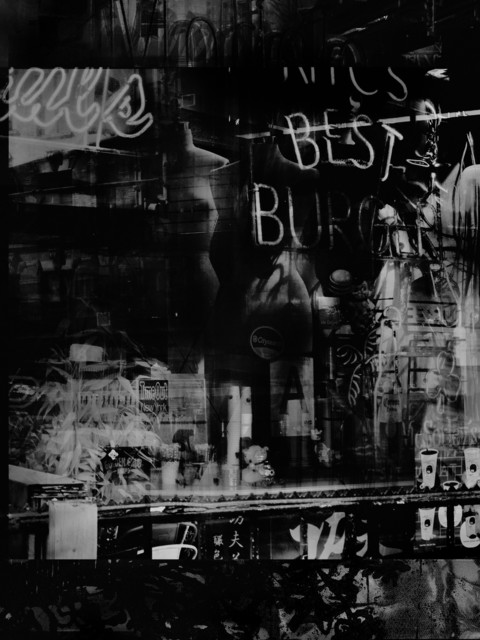 Valérie Belin, 'Beltline Burgers, Atlanta (Reflection)', 2019, Photography, Pigment print back-mounted on Dibond and framed with non reflect glass, Galerie Nathalie Obadia