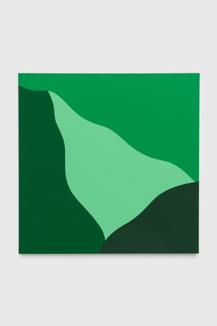 , 'Green #001,' 2019, Brannan Mason Gallery