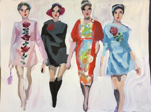 , 'Fashion Forward,' 2018, Vanessa Rothe Fine Art