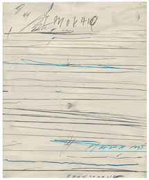 Cy Twombly, 'Untitled (Ramifications),' 1971, Sotheby's: Contemporary Art Day Auction