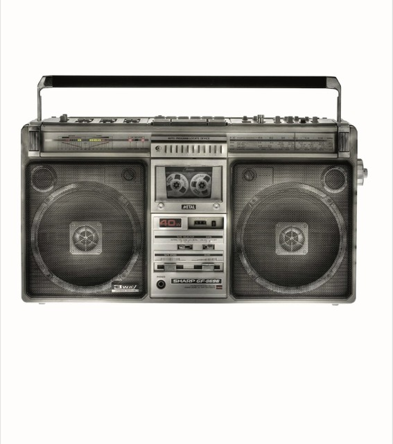 Lyle Owerko, 'Boom Box 5 (Edition of 20)', 2015, Print, Giclee on fine art paper, Joseph Gross Gallery
