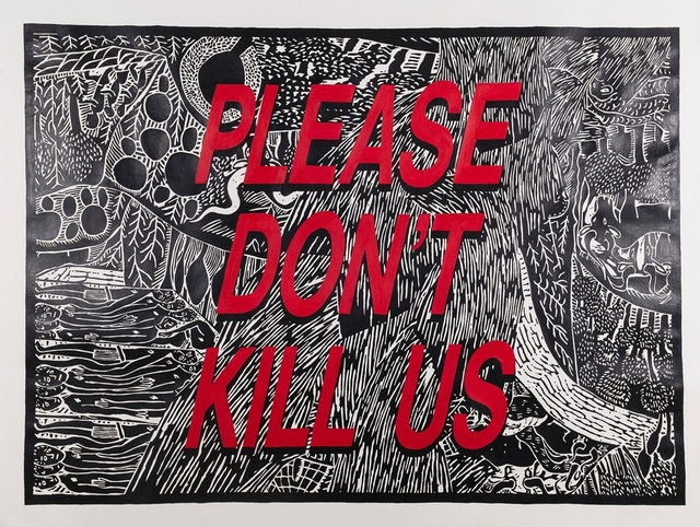 , 'Please Don´t Kill Us,' 2013, Galerie Ernst Hilger