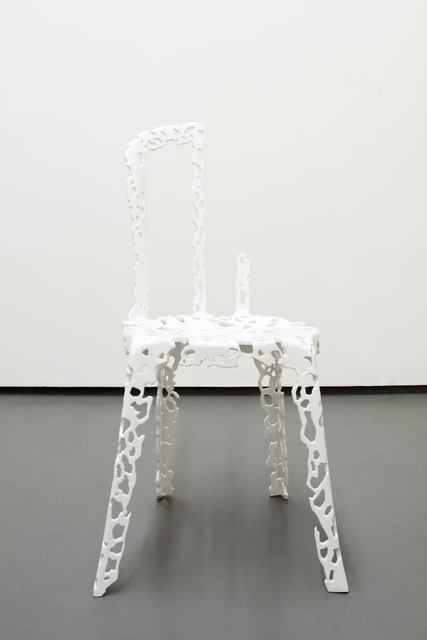, 'Rest in Peace #2 (chair),' 2010, Noguchi Museum