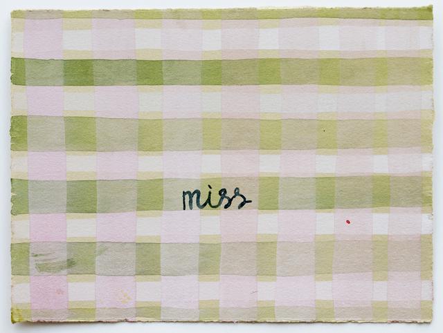 Julia Kuhl, 'Domestic Textiles Series, Miss ', 2019, frosch&portmann