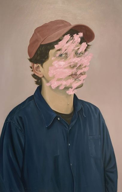 Henrietta Harris, 'Fixed Emile', 2019, Painting, Oil on canvas, Robert Fontaine Gallery