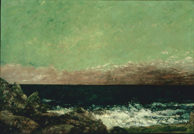 Gustave Courbet, 'The Mediterranean', 1857, Phillips Collection