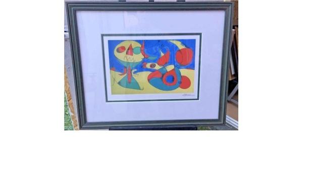 Joan Miró, 'Zephyr Bird', 1956, Leviton Fine Art