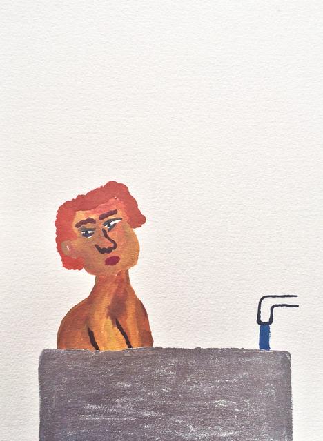 , 'Men in Bath 3,' 2015, Childs Gallery