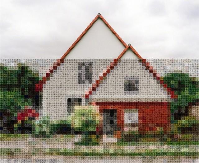 , 'House, Wall Area Near Lichterfelde-Sud,' 2017, KLOMPCHING GALLERY