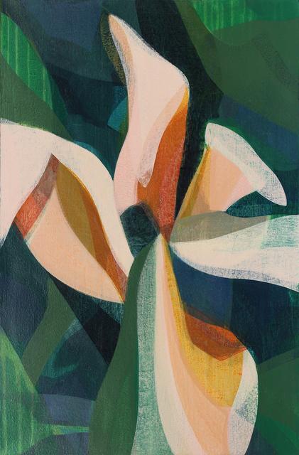 Katherine Sandoz, '(Magnolia) Big Leaf Navy', 2019, Spalding Nix Fine Art