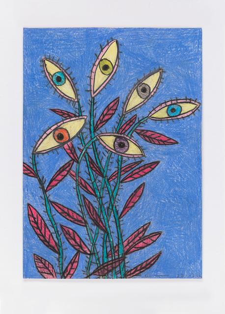 , 'Untitled (night flowers, eyes) 22.12.12,' 2012, Ingleby Gallery