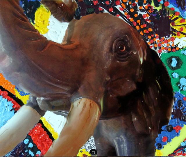 , 'Elephant Three,' 2018, Bitfactory Gallery