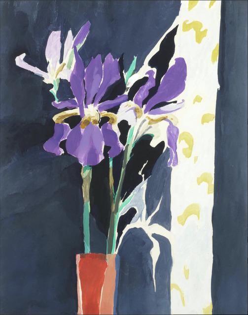 , 'Irises,' 1975, Robert Eagle Fine Art
