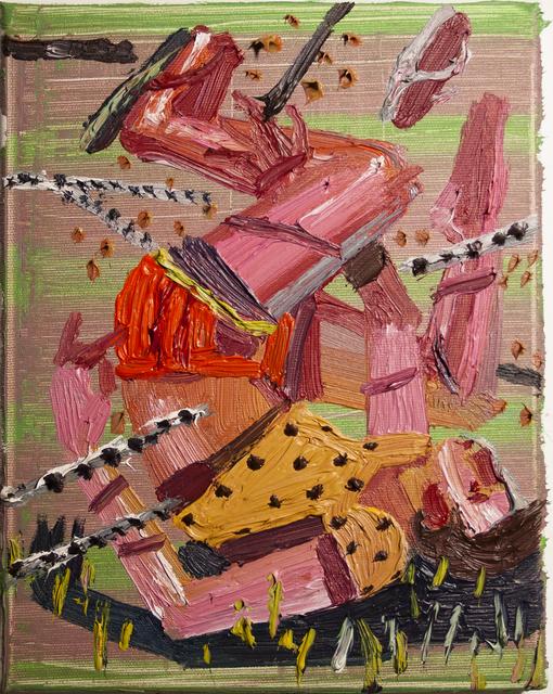, 'Falling down the tree III,' 2018, Art+Text Budapest