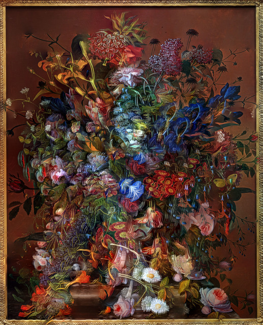 , 'Flowers for Lisa # 5 / Composite Picture of Flower Painting,' 2014, Edwynn Houk Gallery