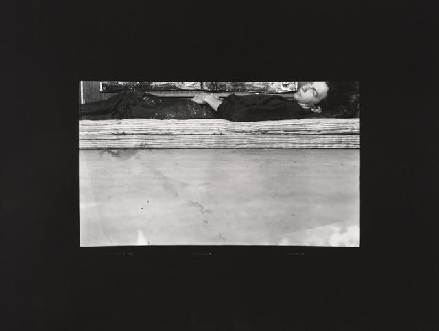 Robert Rauschenberg, 'Postcard Self-Portrait, Black Mountain (II),' 1952; printed ca. 1989, San Francisco Museum of Modern Art (SFMOMA)