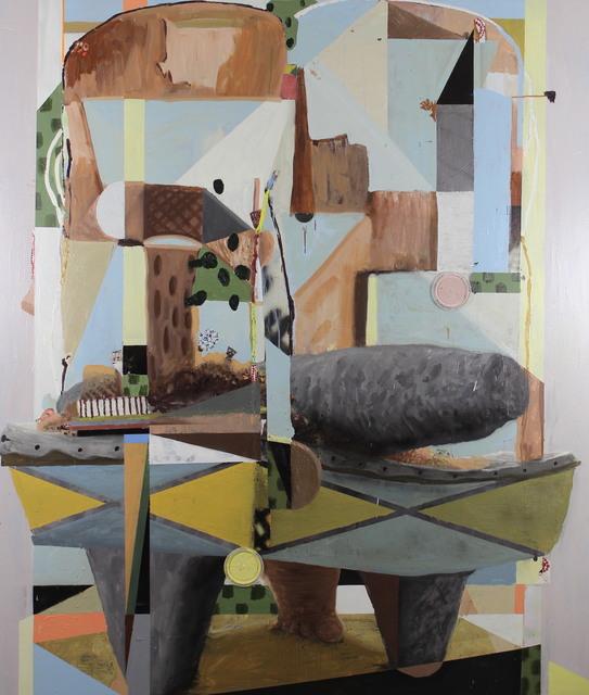 , 'Metate estructura detrito,' 2017, Galería Karen Huber