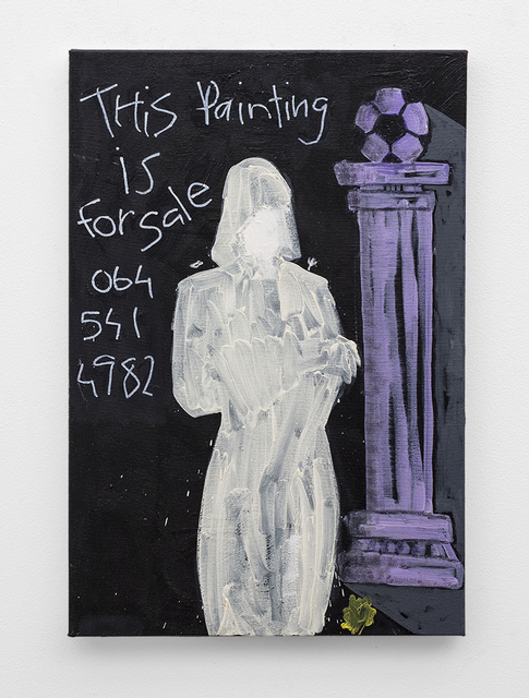 , 'This Painting is For Sale,' 2018, SMAC