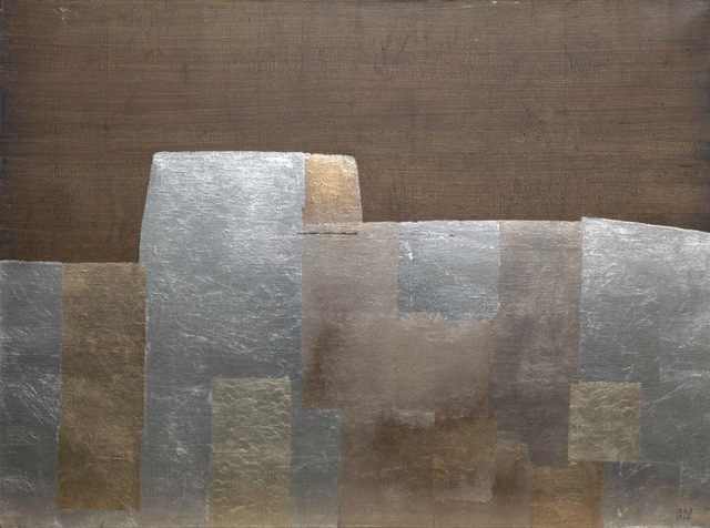 , 'N°8-1964 Petit mur d'argent,' 1964, Galerie Jérôme Poggi