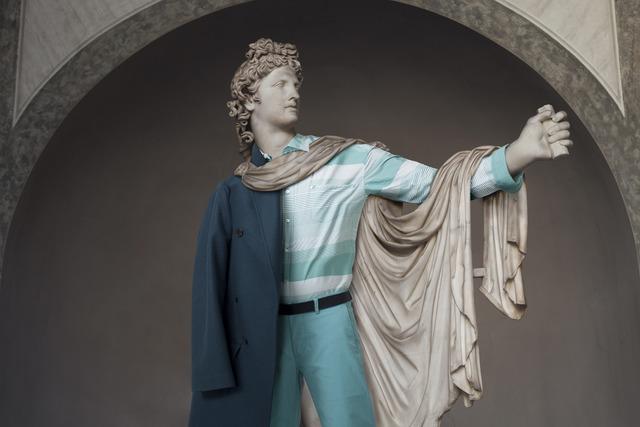 Léo Caillard, 'Hipster in Stone XIV - Young Caesar,' 2012, VICTORI+MO CONTEMPORARY