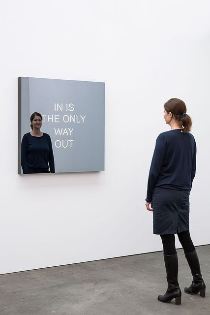 , 'IN IS THE ONLY WAY OUT,' 2016, 303 Gallery