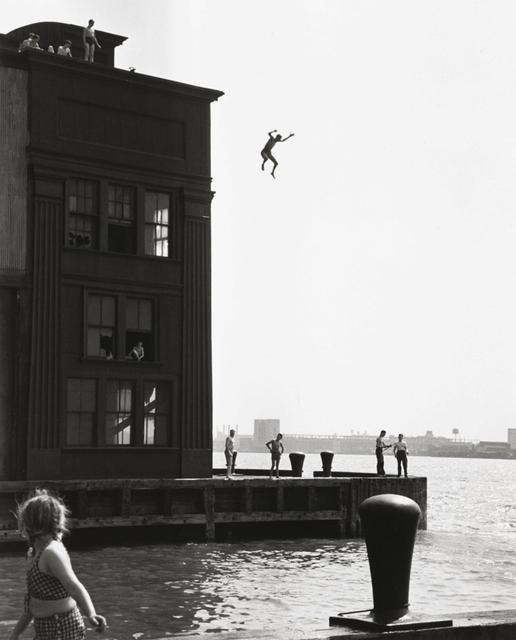 Ruth Orkin, 'Boy Jumping into Hudson River, Gansevoort Pier', 1948, PDNB Gallery