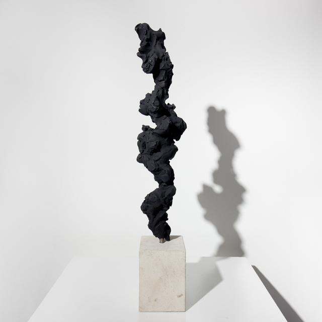 , 'Black Totem no. 3,' 2017-2018, Dellasposa