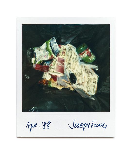 , 'Garbage Bin,' 1988, Blindspot Gallery