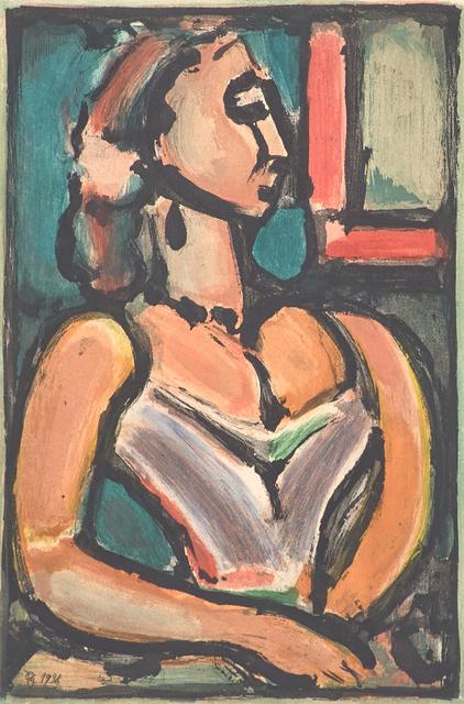 Georges Rouault, 'Femme Fière from Les Fleurs du Mal', 1938, Rago