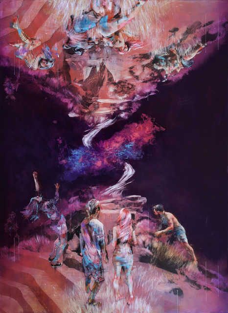 Ian Francis, 'A GROUP OF PEOPLE FIND ANOTHER WORLD WHERE NONE OF THEM ARE AWAKE', 2019, Corey Helford Gallery