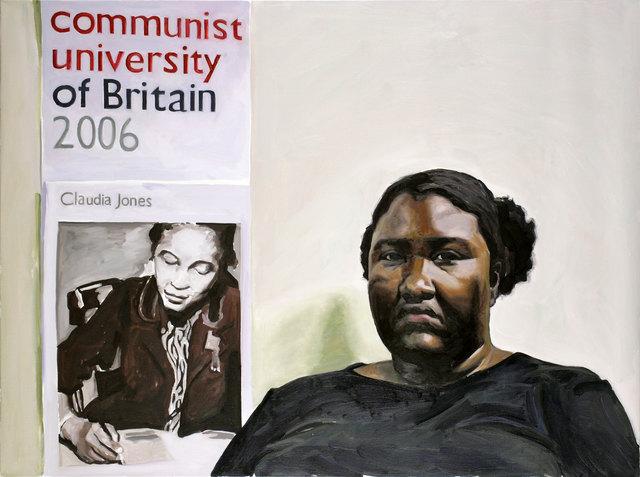 Yevgeniy Fiks, 'Portrait of Sheltreese McCoy (Communist Party USA)', 2007, Winkleman Gallery