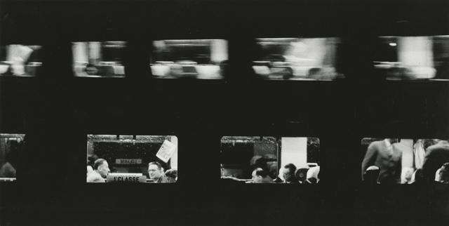 , 'Trein (Trains),' 1957, Howard Greenberg Gallery