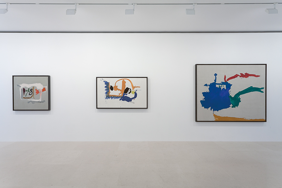 "Gagosian Gallery, Paris: ""Helen Frankenthaler: After Abstract Expressionism, 1959– 1962"" June 09, 2017 - September 16, 2017 Photo by Zarko Vijatovic."