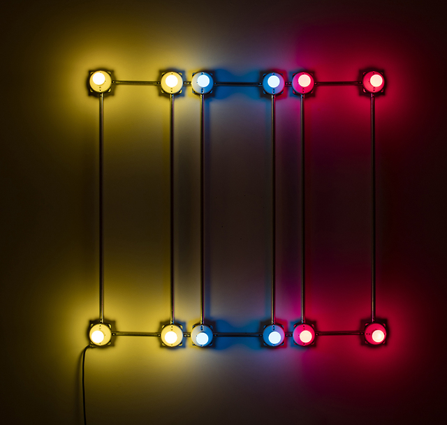 , 'Conduits in Red, Yellow and Blue (Figure 66),' 2016, Steve Turner