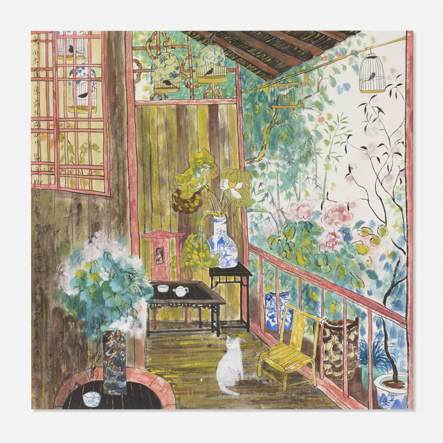 Fang Xiang, 'Spoiled Cat of the House', c. 2000, Wright