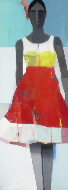 , 'Red Dress,' 2016, Sue Greenwood Fine Art