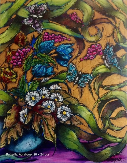 Jean Jacques Hudon, 'Butterfly', Galleria Dante
