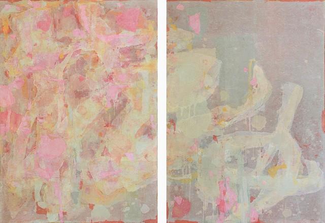 , ' No. 13144 (Two Pannels),' 2013, NanHai Art