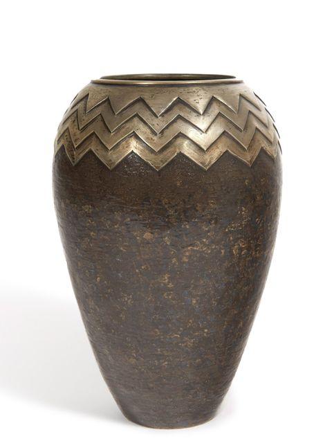 , 'Dinanderie Vase,' ca. 1930, Galerie Marcilhac