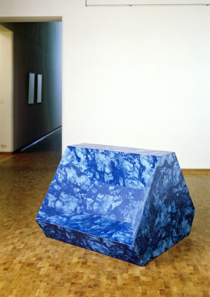 Richard Artschwager, 'Logus (Blue Logus),' 1967, Hammer Museum