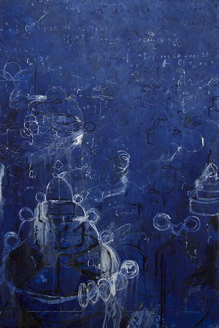 , 'Three Indigo Roses for Leibniz,' 2016, Winston Wächter Fine Art