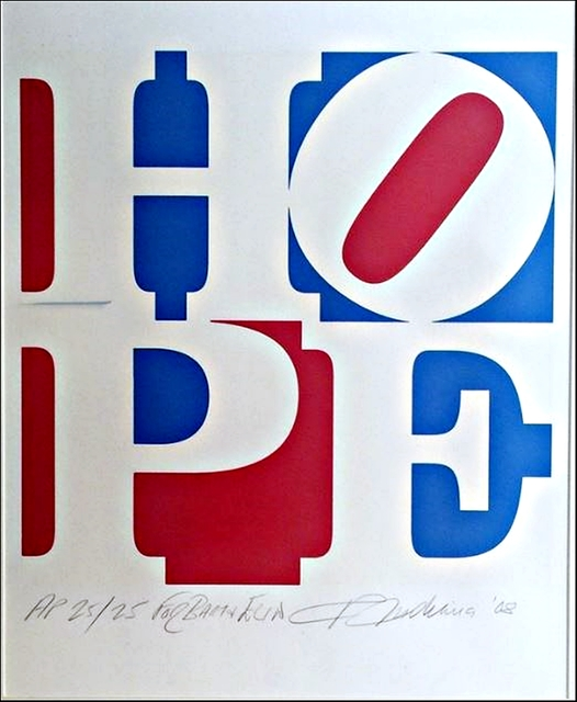 , 'HOPE - from Artist for Obama Portfolio, Hand Inscribed & Dedicated,' 2008, Alpha 137 Gallery