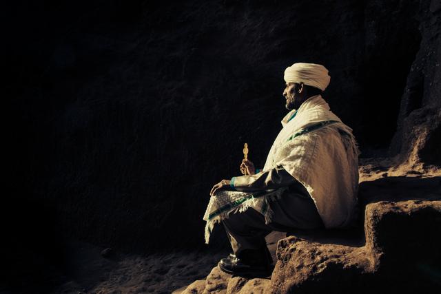 , 'Primordial Modernity: The Raw Spirit of Lalibela V,' 2014, Addis Fine Art