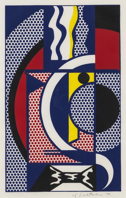 Roy Lichtenstein, 'Modern Head #1', 1970, Susan Sheehan Gallery