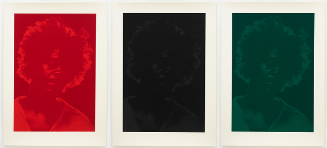 , 'Triptych,' 2014, MARUANI MERCIER GALLERY